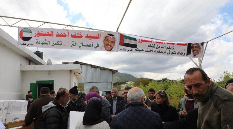 خلف أحمد الحبتور يطلق حملته الخيرية السنوية في لبنان قبيل الشهر الفضيل