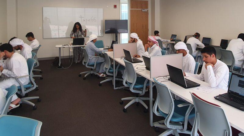 """جامعة دبي : 1600 طالب وطالبة يؤدون اختبار """"الأمسات"""""""
