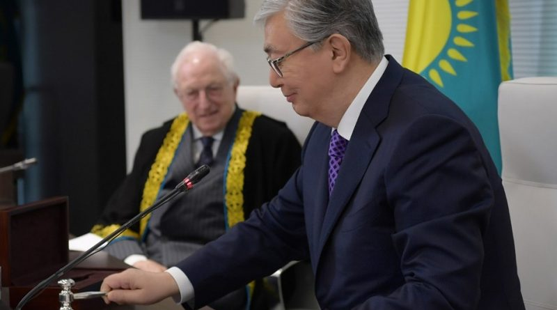 """الرئيس الكازاخي يفتتح منتدى """"أيام أستانا المالية"""