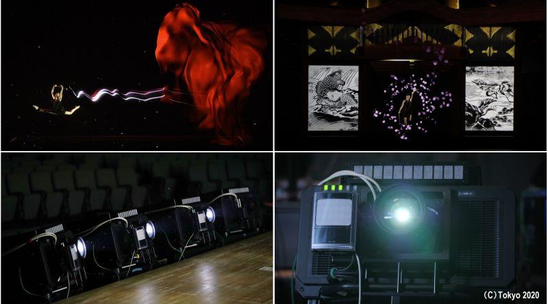 """جهاز الإسقاط بتقنية التتبع والعرض بالزمن الحقيقي من باناسونيك يحصد إعجاب الجمهور في حفل """"عام على الافتتاح"""" الخاص بأولمبياد طوكيو 2020"""