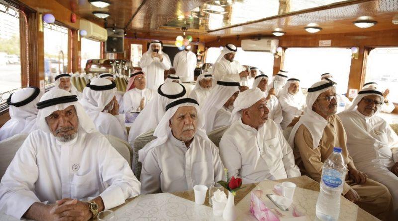 """مؤسسة وطني الإمارات تحتفل بكبار المواطنين بفعاليات """"أنتو البركة"""""""