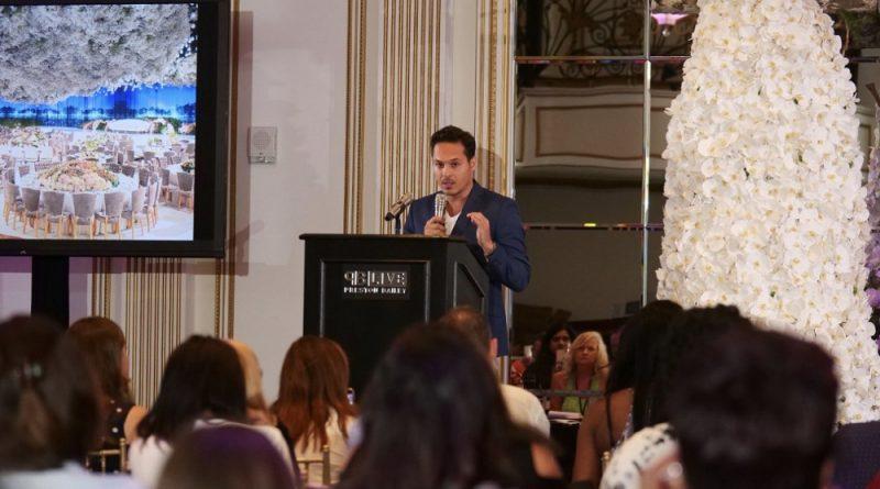 محمد غياض ولومرياج في المؤتمر العالمي للمناسبات وحفلات الزفاف( PB LIVE)