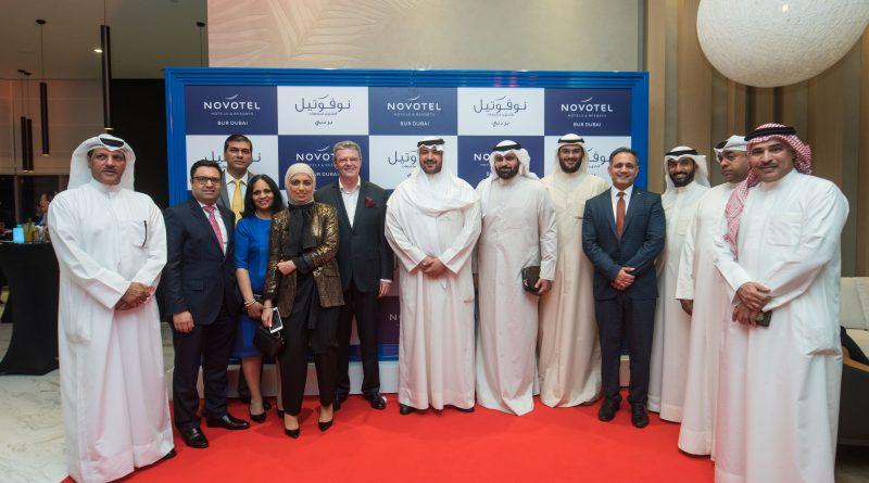 سمو الشيخ مبارك العبدالله المبارك الصباح يفتتح رسمياً فندق نوفوتيل بر دبي