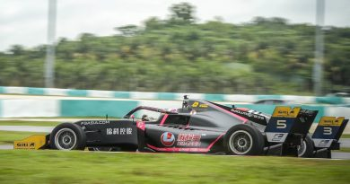 Giti Tire Makes Middle East Racing Debut at Dubai, Abu Dhabi F3 Asia Races