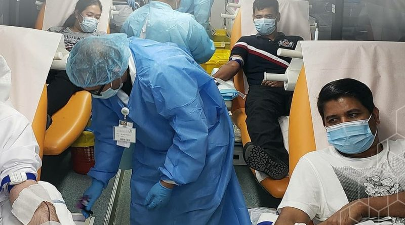 مجموعة (ام بي اف هيلث سكوير) تنظم حملة للتبرع بالدم في دبي