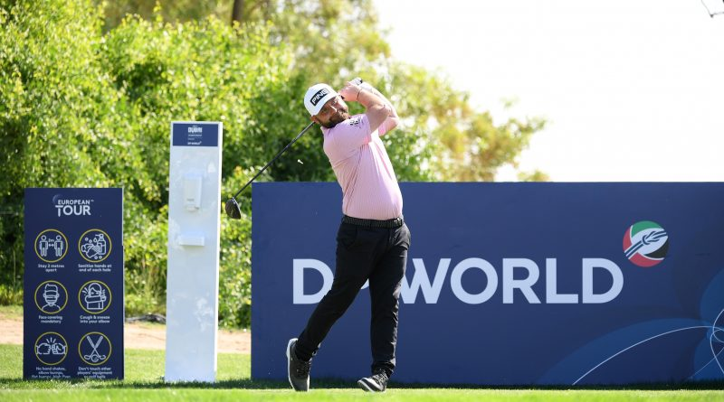 """الإنجليزي سوليفان يتصدر انطلاقة بطولة """"الجولف في دبي"""
