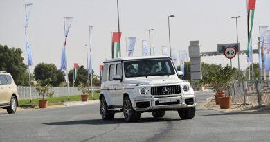 محمد بن راشد يشهد ختام مهرجان سمو ولي عهد دبي للهجن