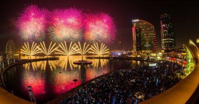 فعاليات مهرجان السياحة والتسوق في دبي فيستفال سيتي