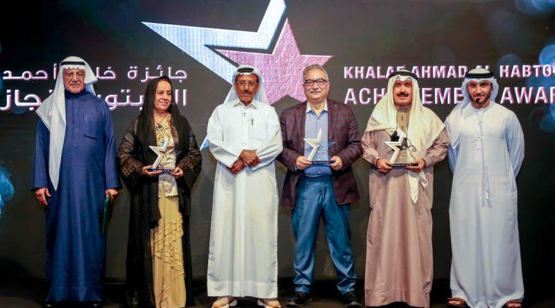 خلف الحبتور يُكرّم أربع شخصيات إعلامية بارزة من العالم العربي بمنحهم جائزة خلف أحمد الحبتور للإنجاز