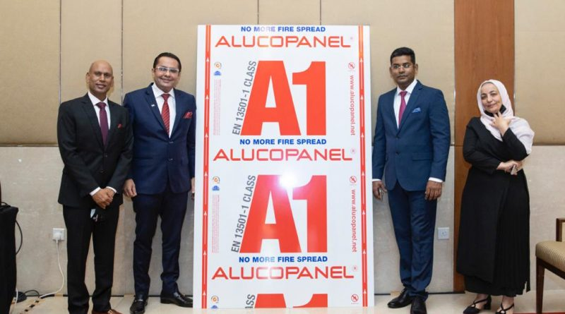 Danube Group Launches World's First Civil Defence Approved Alucopanel A1 Aluminium Composite Panel Façade