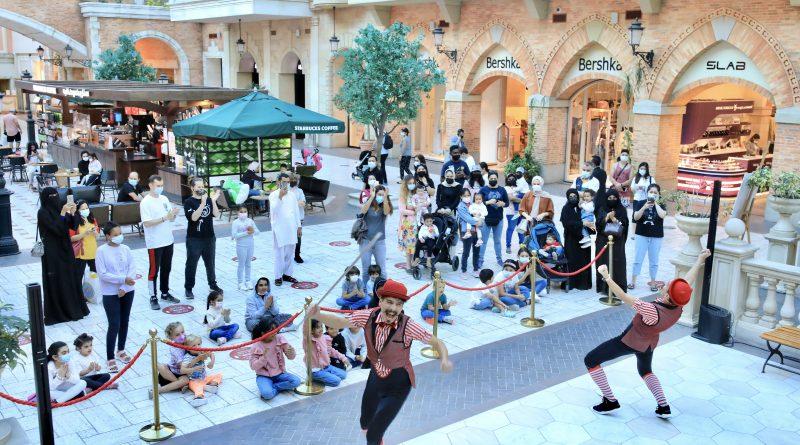 فعاليات عالمية مشوقة في ميركاتو تبهر الصحفيين والمؤثريين الإجتماعيين خلال مهرجان دبي للتسوق