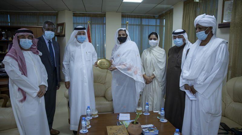 وزيرة التعليم العالى والبحث العلمى بالسودان تشيد بالعلاقات المتميزة بين الامارات والسودان