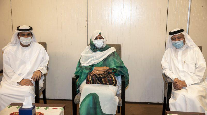 وزيرة الخارجية السودانية تستقبل وفد هيئة آل مكتوم الخيرية